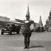 Постовой ОРУД на Красной площади 1935