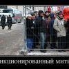 санкционированный митинг